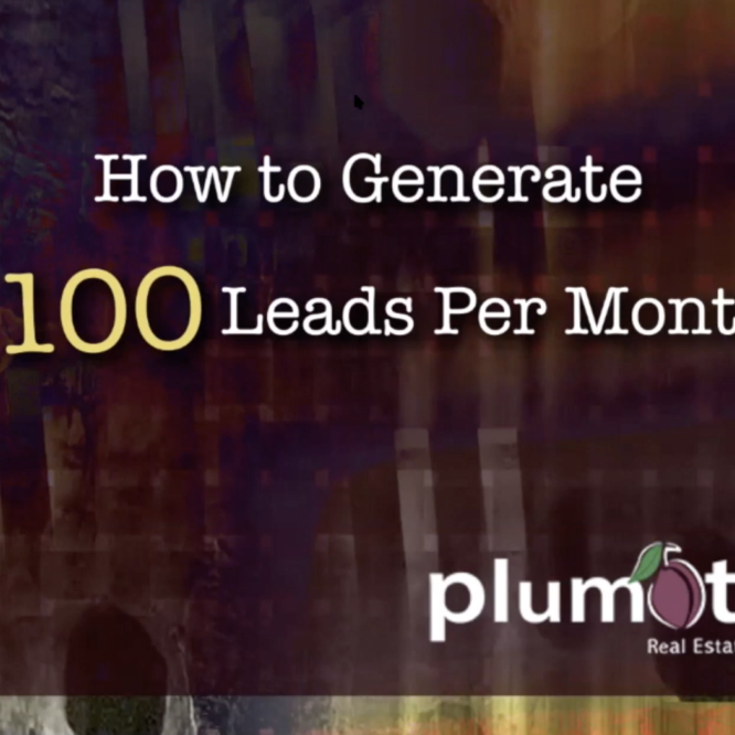 How to Generate 100 Leads Per Month